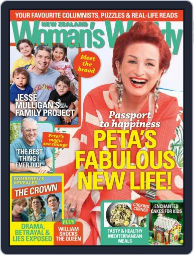 New Zealand Woman's Weekly (Digital) November 16th, 2020 Issue Cover