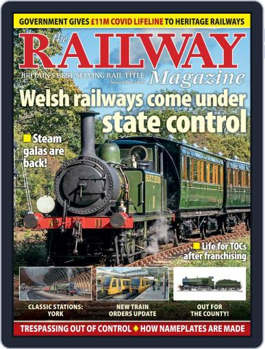 The Railway November 1st, 2020 Digital Back Issue Cover