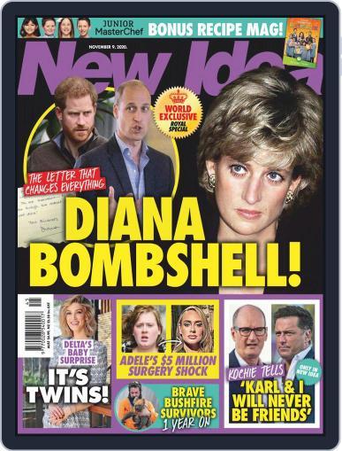 New Idea November 9th, 2020 Digital Back Issue Cover
