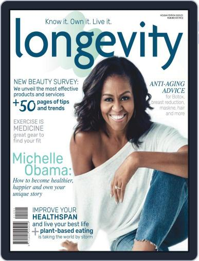 Longevity South Africa November 3rd, 2020 Digital Back Issue Cover