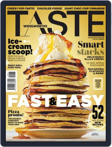 Woolworths TASTE (Digital) November 1st, 2020 Issue Cover