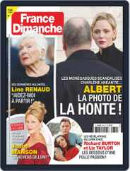 France Dimanche (Digital) Subscription October 30th, 2020 Issue