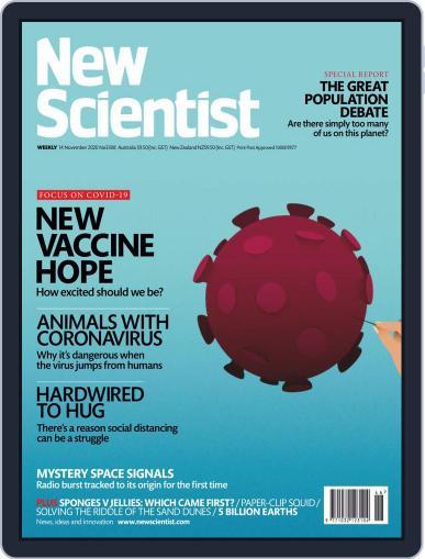 New Scientist Australian Edition (Digital) November 14th, 2020 Issue Cover