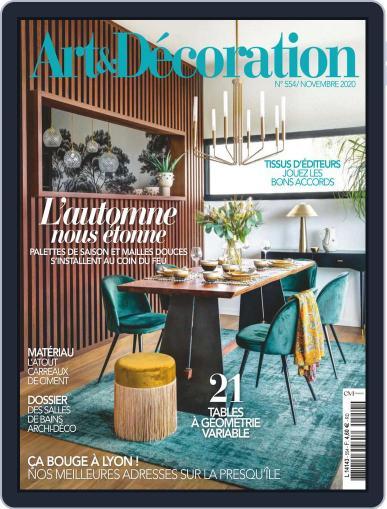 Art & Décoration November 1st, 2020 Digital Back Issue Cover