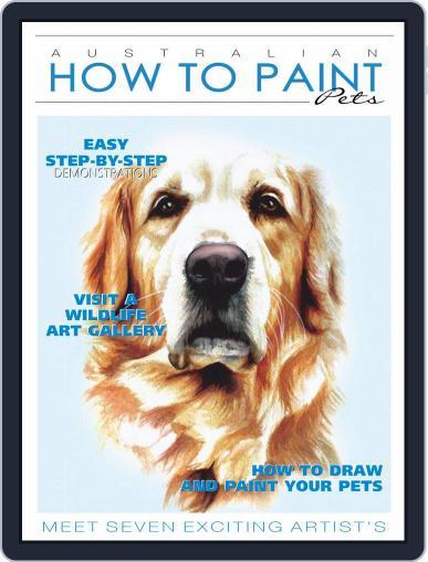 Australian How To Paint (Digital) November 1st, 2020 Issue Cover