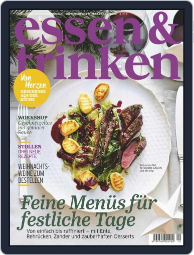 essen&trinken December 1st, 2020 Digital Back Issue Cover