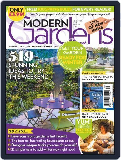 Modern Gardens (Digital) November 1st, 2020 Issue Cover