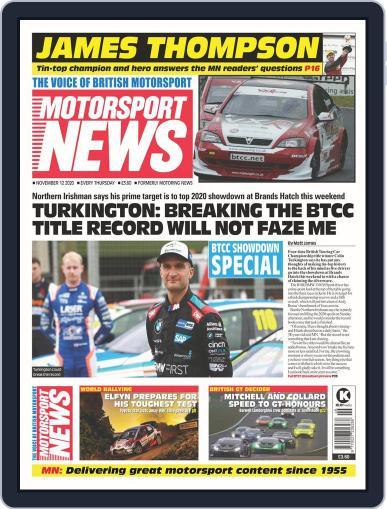 Motorsport News November 12th, 2020 Digital Back Issue Cover