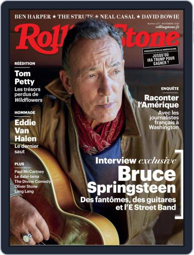 Rolling Stone France (Digital) October 15th, 2020 Issue Cover