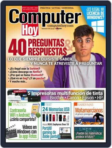 Computer Hoy November 12th, 2020 Digital Back Issue Cover