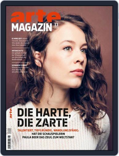 Arte Magazin November 1st, 2020 Digital Back Issue Cover