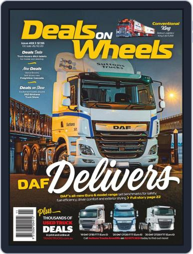 Deals On Wheels Australia October 21st, 2020 Digital Back Issue Cover