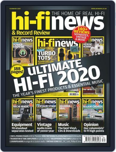 Hi Fi News October 16th, 2020 Digital Back Issue Cover