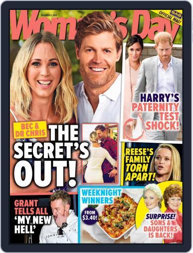 Woman's Day Australia (Digital) November 9th, 2020 Issue Cover