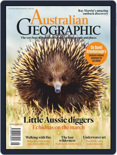 Australian Geographic November 1st, 2020 Digital Back Issue Cover