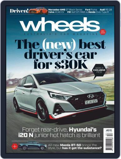 Wheels (Digital) December 1st, 2020 Issue Cover