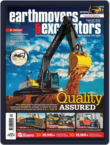 Earthmovers & Excavators November 9th, 2020 Digital Back Issue Cover