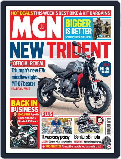 MCN (Digital) November 4th, 2020 Issue Cover