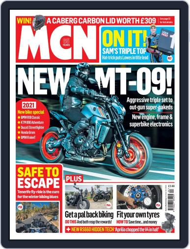 MCN October 28th, 2020 Digital Back Issue Cover
