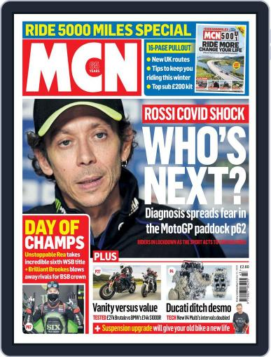 MCN (Digital) October 21st, 2020 Issue Cover
