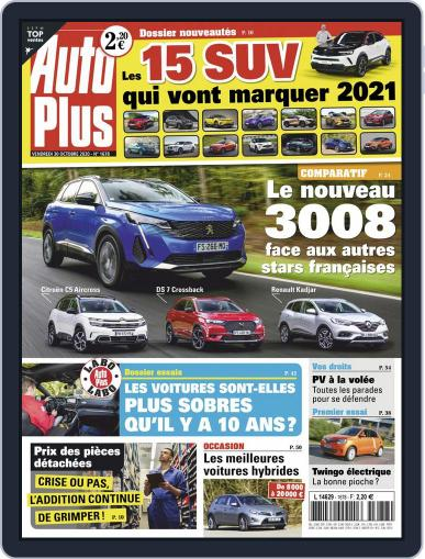 Auto Plus France (Digital) October 30th, 2020 Issue Cover