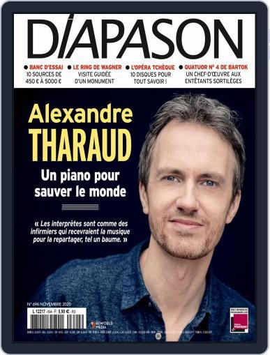 Diapason (Digital) November 1st, 2020 Issue Cover
