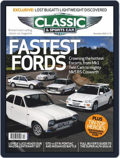 Classic & Sports Car (Digital) December 1st, 2020 Issue Cover