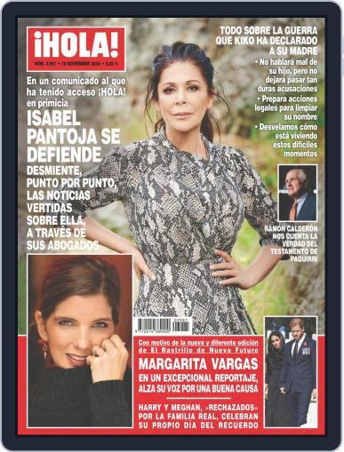 Hola (Digital) November 18th, 2020 Issue Cover