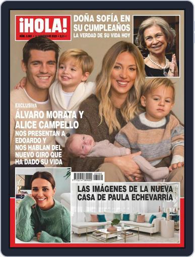 Hola (Digital) November 11th, 2020 Issue Cover