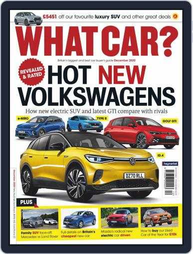 What Car? December 1st, 2020 Digital Back Issue Cover