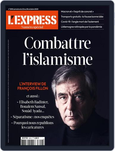 L'express October 22nd, 2020 Digital Back Issue Cover