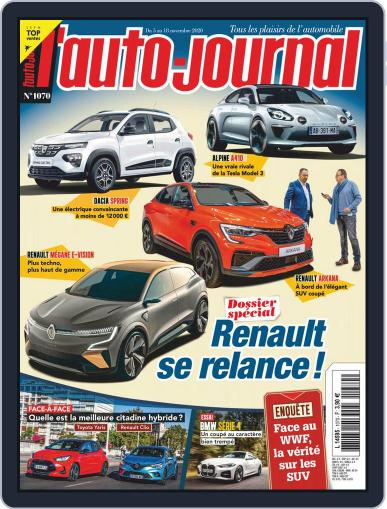 L'auto-journal (Digital) November 5th, 2020 Issue Cover