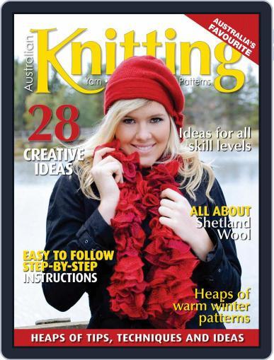 Australian Knitting (Digital) August 1st, 2020 Issue Cover