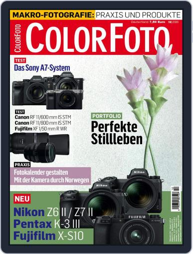 Colorfoto (Digital) December 1st, 2020 Issue Cover