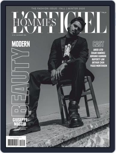 L'Officiel Hommes Italia (Digital) November 5th, 2020 Issue Cover