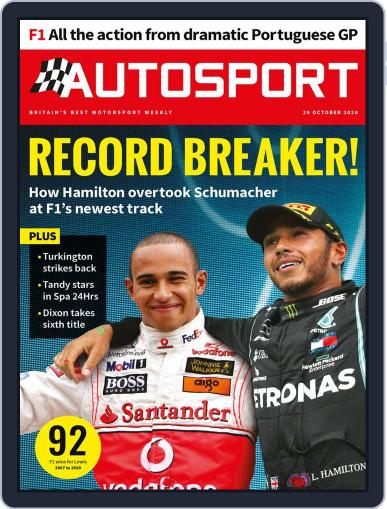 Autosport (Digital) October 29th, 2020 Issue Cover