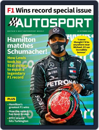 Autosport October 15th, 2020 Digital Back Issue Cover