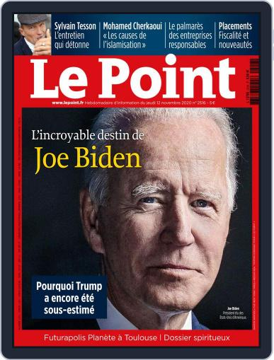 Le Point (Digital) November 12th, 2020 Issue Cover