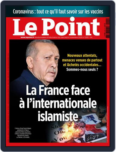 Le Point November 4th, 2020 Digital Back Issue Cover