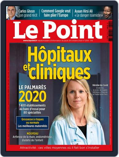 Le Point October 29th, 2020 Digital Back Issue Cover