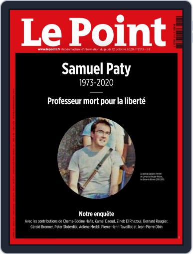 Le Point October 22nd, 2020 Digital Back Issue Cover
