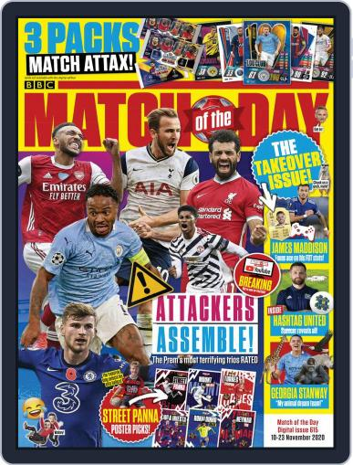 Match Of The Day November 10th, 2020 Digital Back Issue Cover