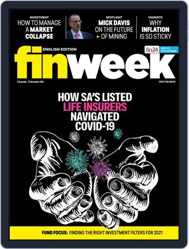 Finweek - English (Digital) November 5th, 2020 Issue Cover