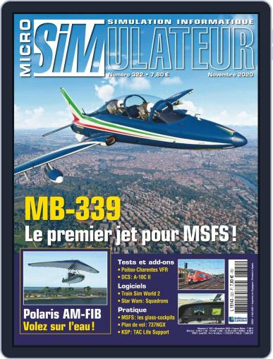 Micro Simulateur (Digital) November 1st, 2020 Issue Cover
