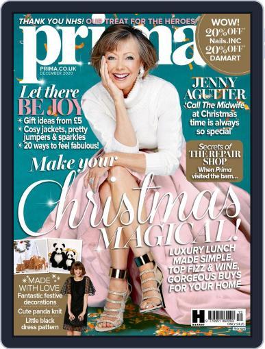 Prima UK (Digital) December 1st, 2020 Issue Cover