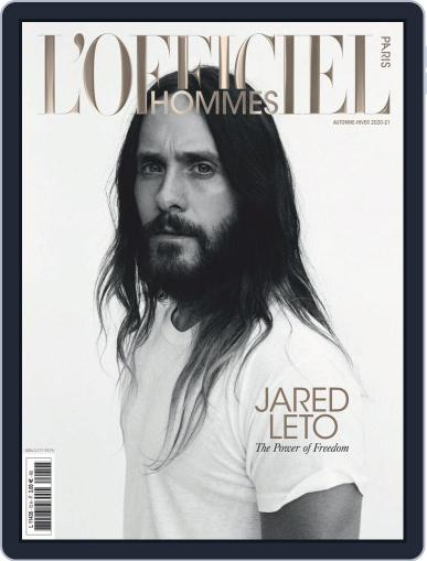 L'officiel Hommes Paris (Digital) November 1st, 2020 Issue Cover