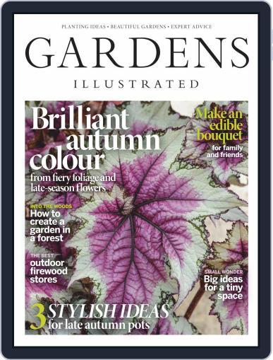 Gardens Illustrated November 1st, 2020 Digital Back Issue Cover