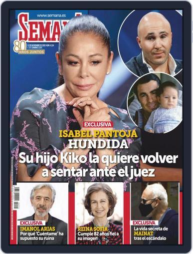 Semana (Digital) November 11th, 2020 Issue Cover