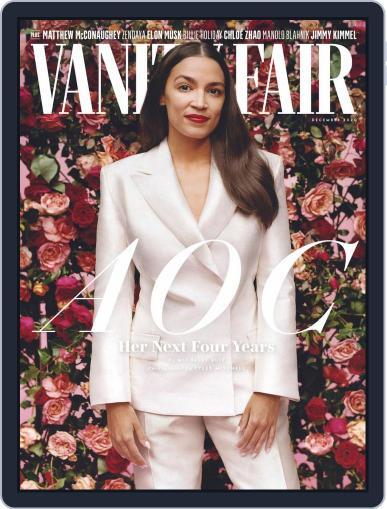 Vanity Fair UK December 1st, 2020 Digital Back Issue Cover