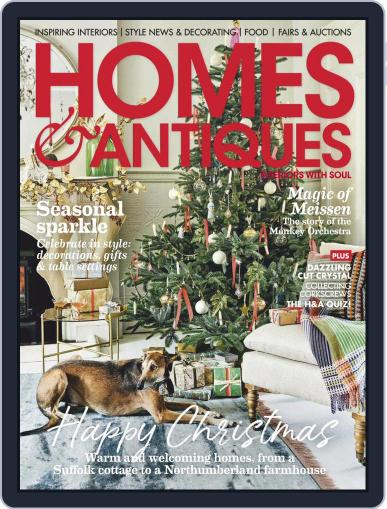 Homes & Antiques December 1st, 2020 Digital Back Issue Cover